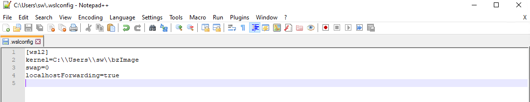 Create a file on your Windows host