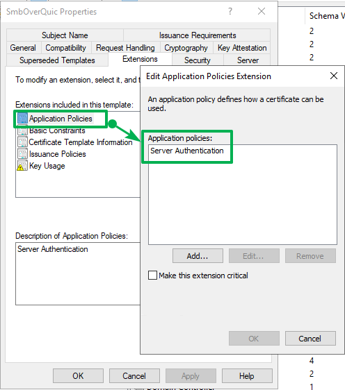 Figure 10: The only purpose is Server Authentication