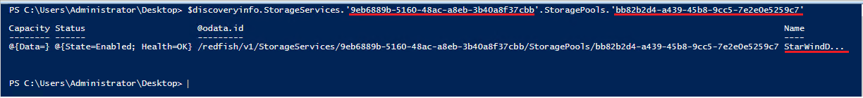 PowerShell to get information about the Datastore