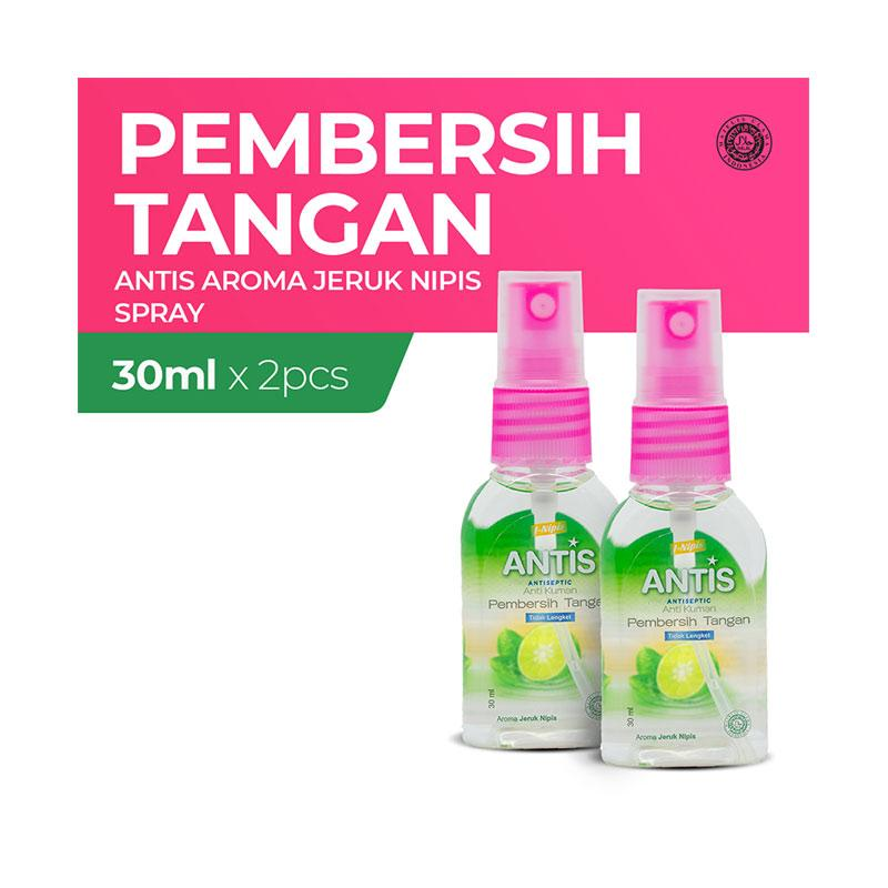 Jual Antis Botol Spray Jeruk Nipis Hand Sanitizer 30 Ml 2 Botol