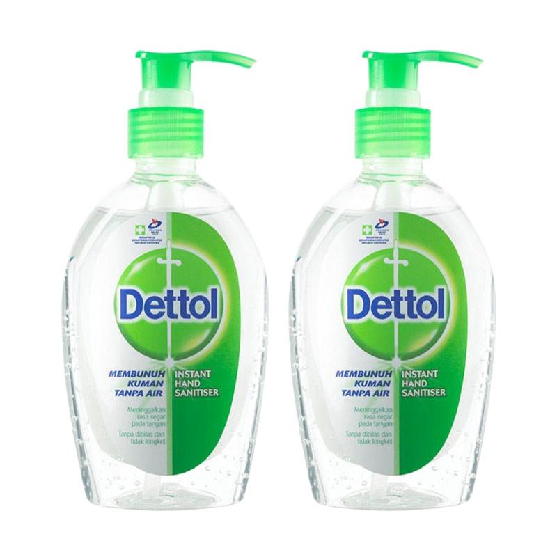Jual Dettol Hand Sanitizer Pump 200 Ml 2 Pcs Murah Maret 2020