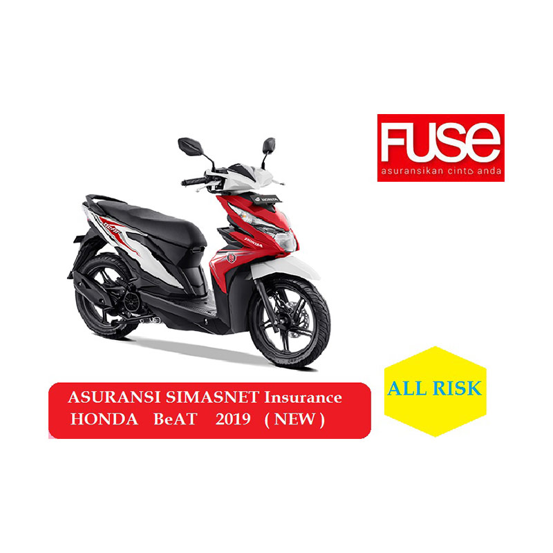 Jual Fuse Simasnet Insurance Asuransi Motor For Honda Beat Sporty