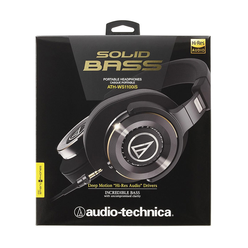Audio-Technica ATH-WS1100iS Black
