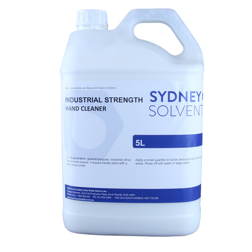Industrial Strength Hand Cleaner Grit 5 Litre Sydney Solvents