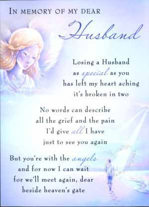 Poems For Deceased Husband 5