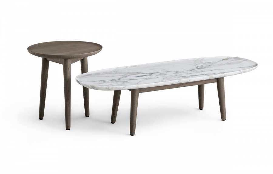 Coffee Table Oval Poliform Day Systems Download 3d Models Low