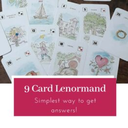 9 cards lenormand reading