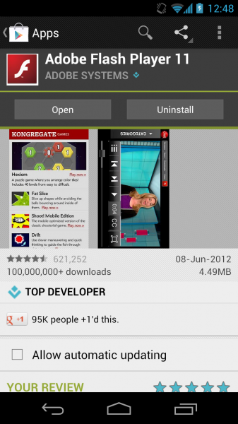 How to install flash player on android 4. 4. 2/4. 4. 3/4. 4. 4 kitkat.