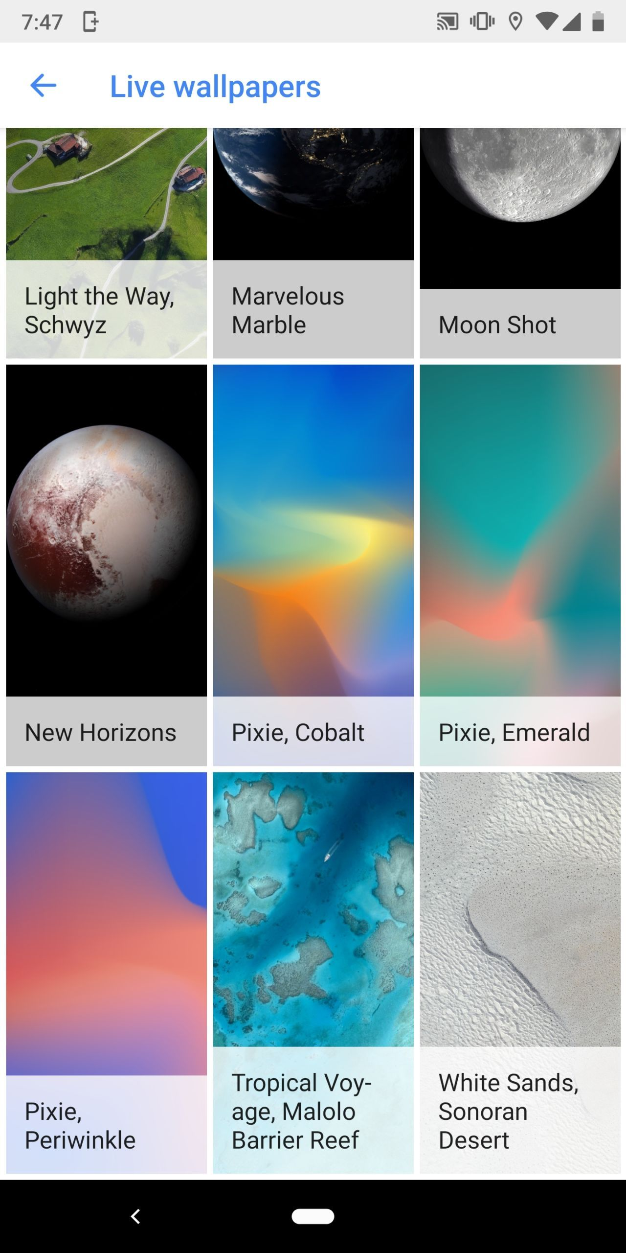 Download Google Pixel 3 Live Wallpapers Official Stock Wallpapers
