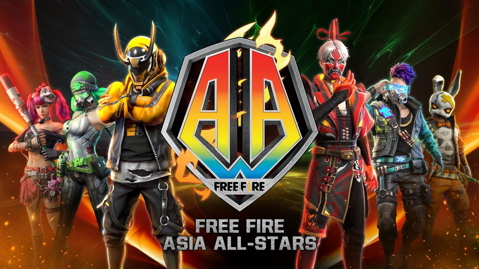 Free Fire Asia All-Stars 2020