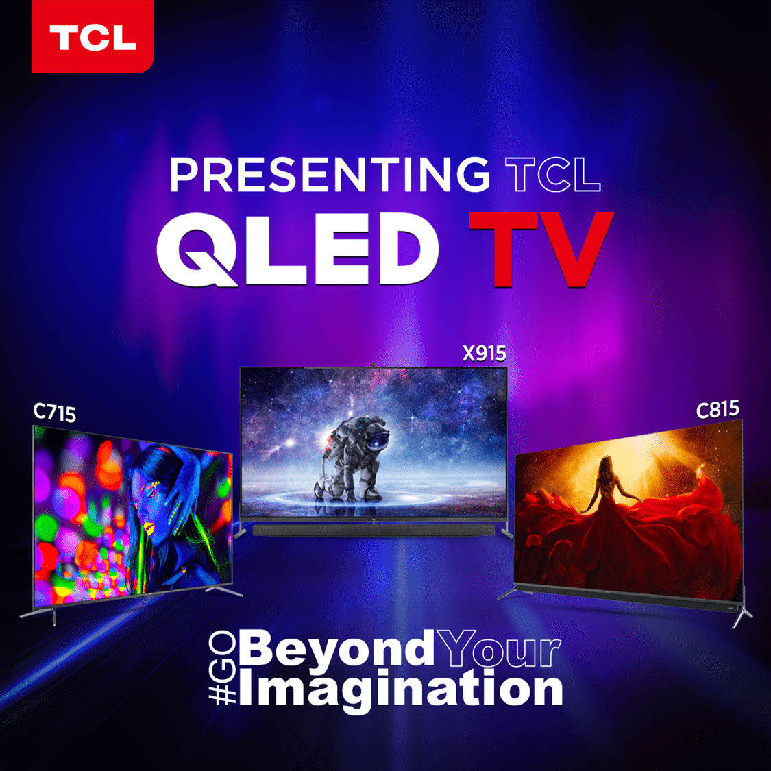 TCL launches New 8K & 4K QLED TVs