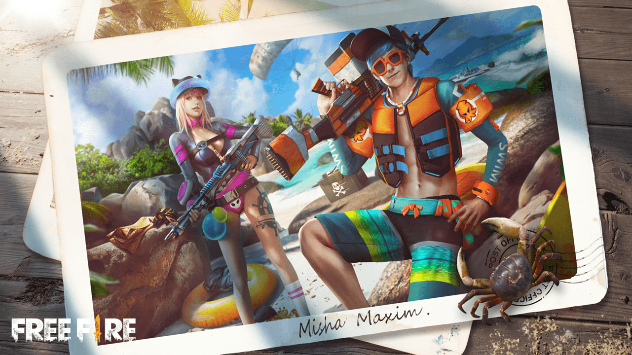 Free Fire's Beach Party Event