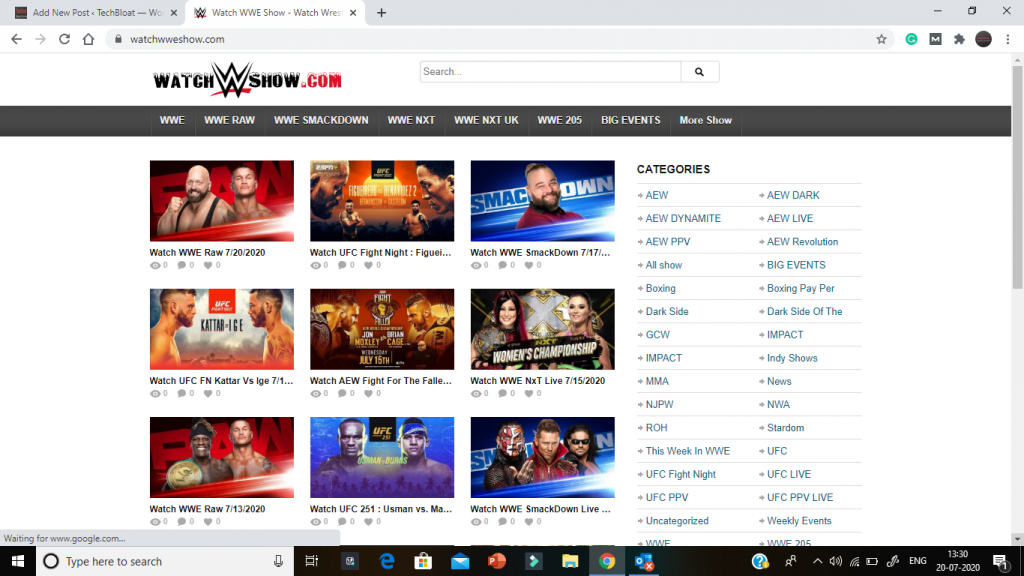 Free WWE Network Shows