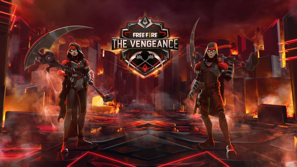 Garena unveils The Vengeance event to delight players