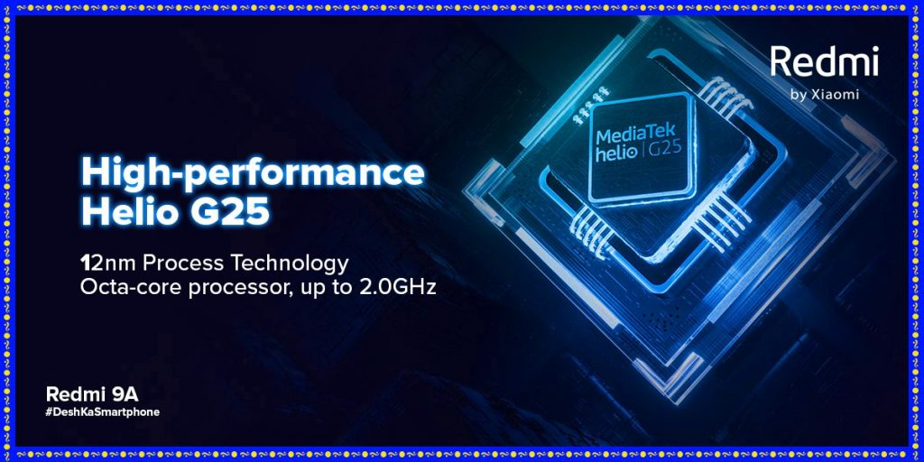 Redmi 9A offers a Helio G95 Chipset