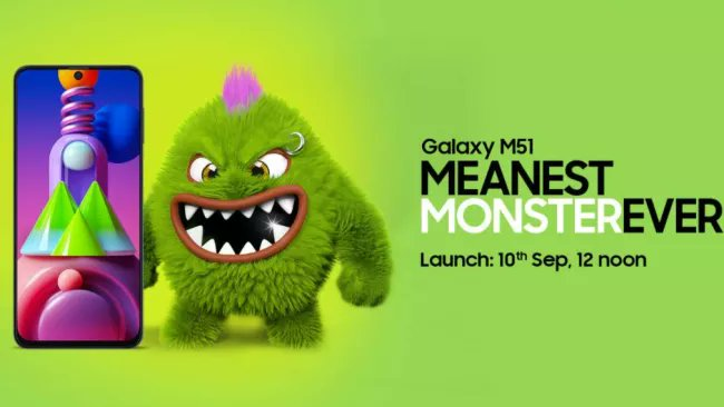 Samsung Galaxy M51 Specifications Leaked Ahead of Launch on 10 September