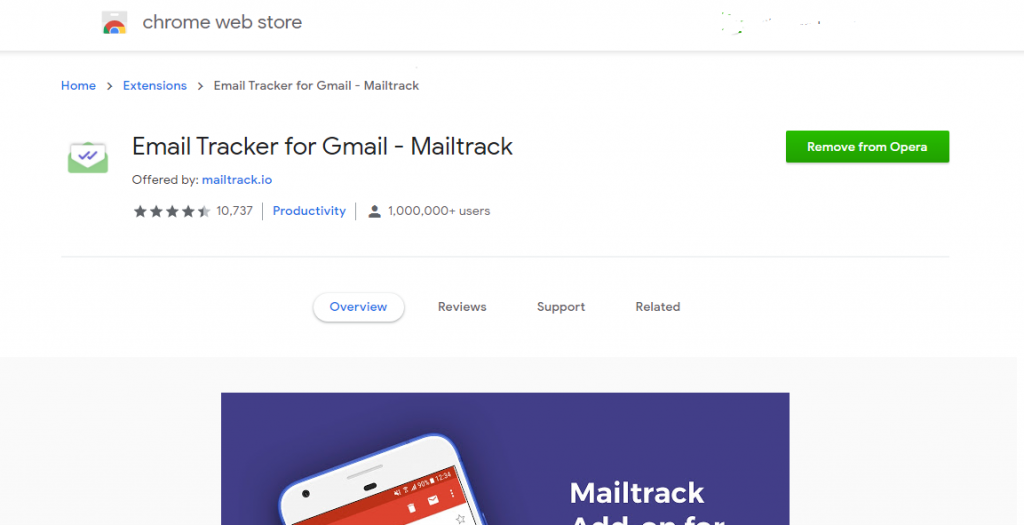 EmailTrackForGmail