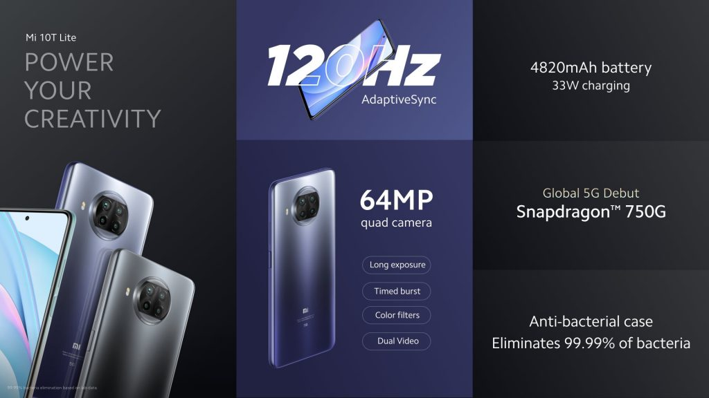 Mi 10T Lite Specification and price