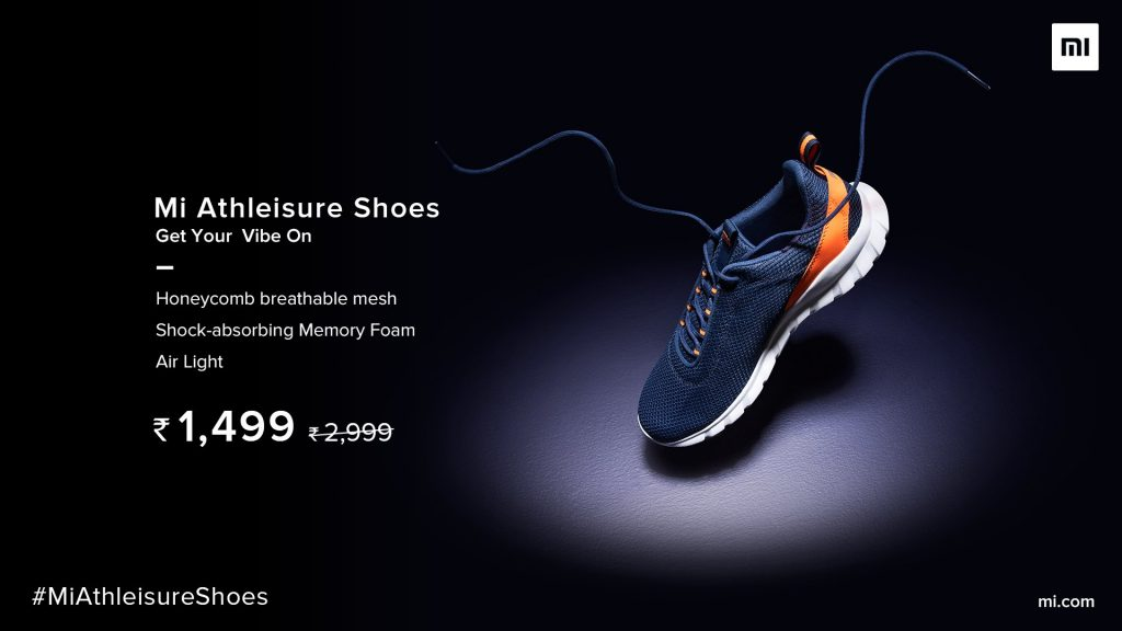Mi Athleisure Shoes Price