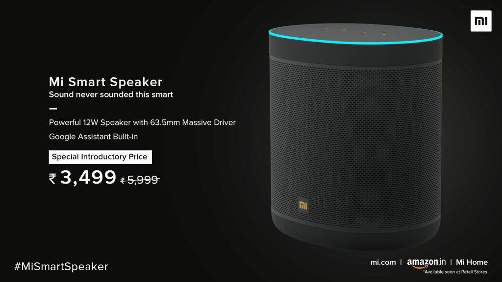 Mi Smart Speaker Price