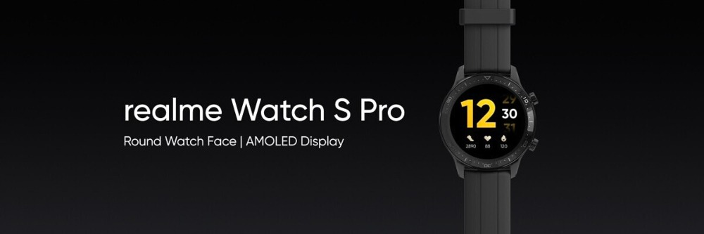 Realme Watch S Pro will be having a 1.39 inch Full Touch Screen AMOLED display