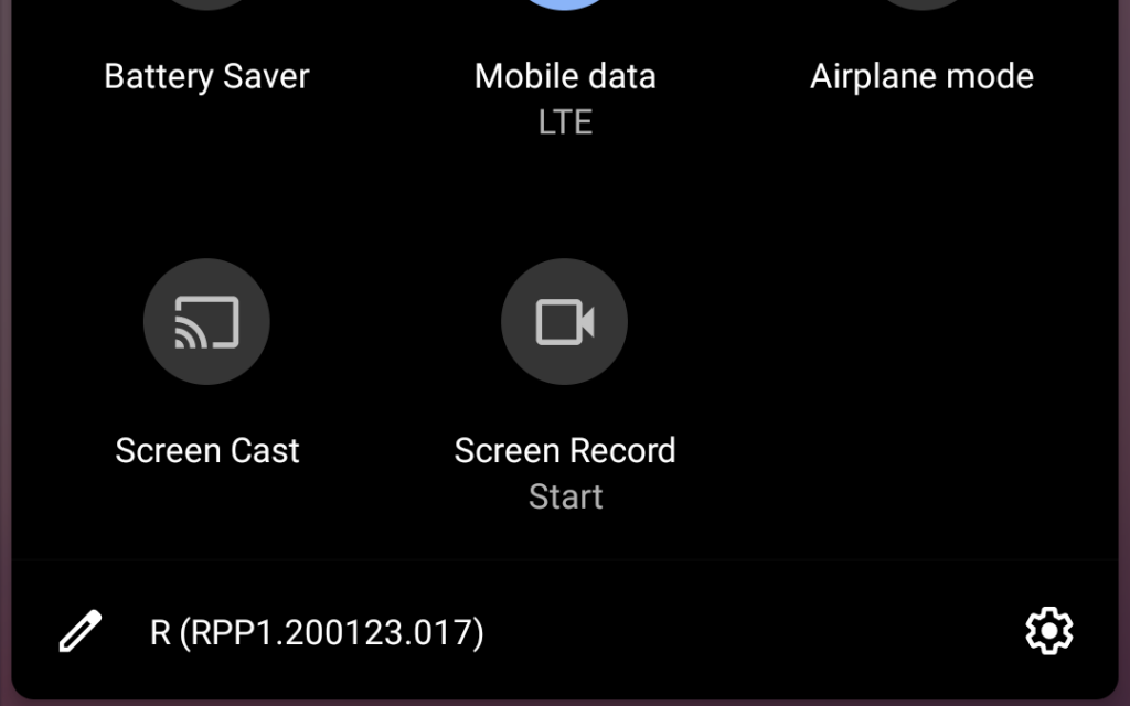 Screen Recorder in Android 11