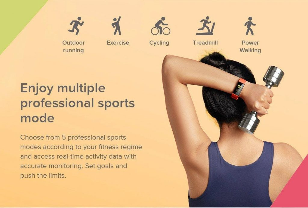 Redmi Smart Band Features