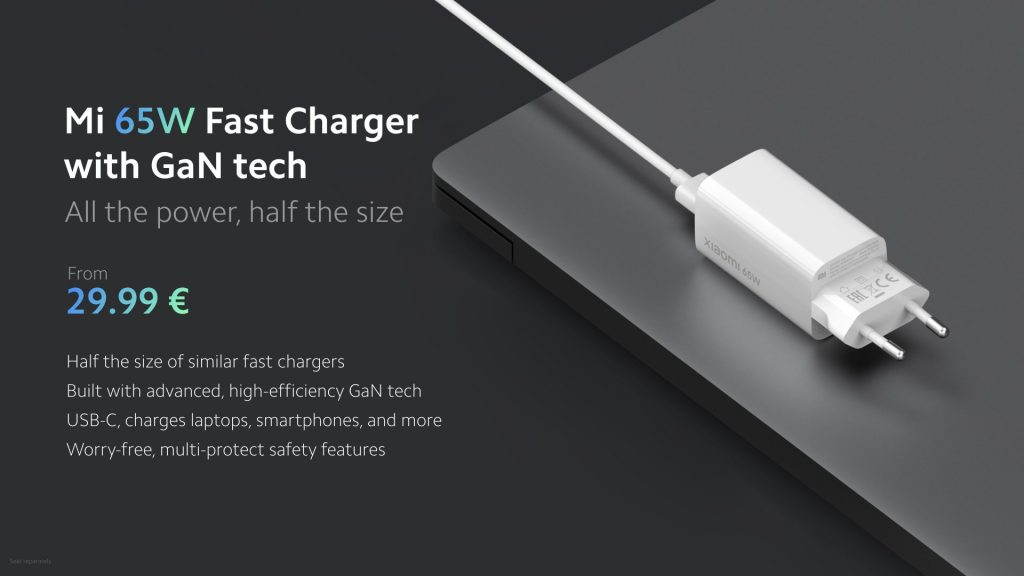 Mi fast charger price 65W