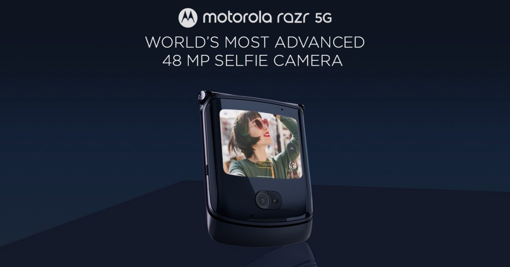 Motorola Razr comes with a 48MP camera with Quad Pixel technology