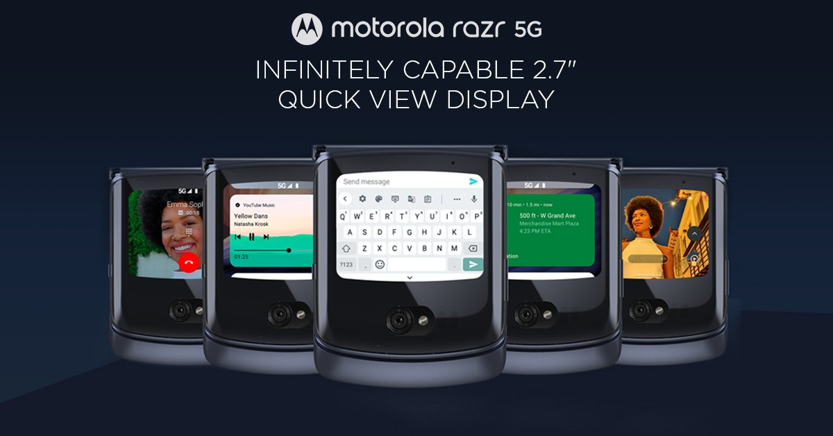 Motorola Razr 5G launched with Snapdragon 765G in India