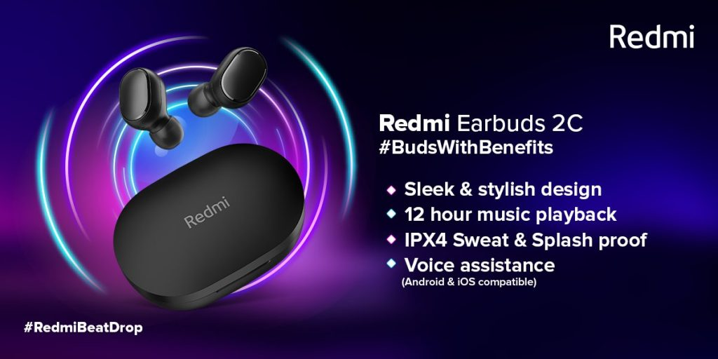 Redmi Earbuds 2C Specificarion and Price