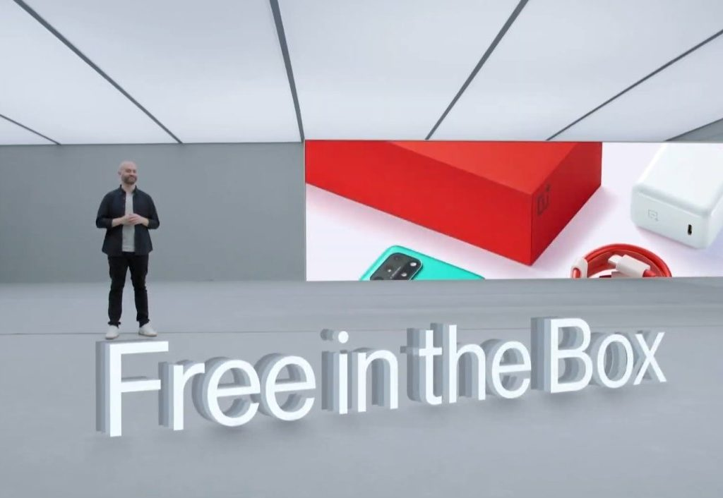 Oneplus brutally trolled Apple by mentioning that they are providing a charger free of cost in the box, unlike the iPhone 12 Series.