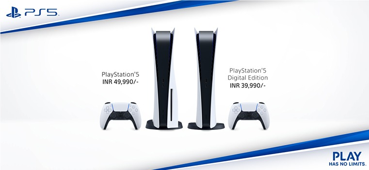 PlayStation 5 India Pricing