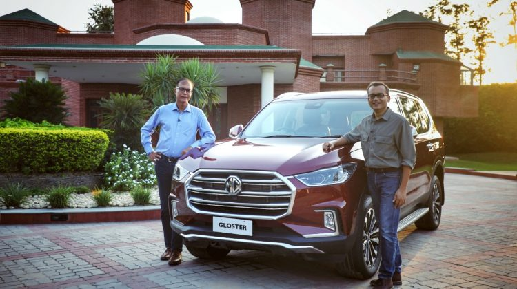 MG Motor India unveils MG Gloster, India's First Autonomous Premium SUV