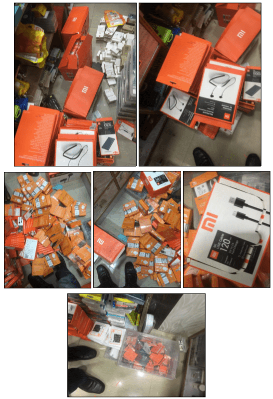 Fake Xiaomi Products busted