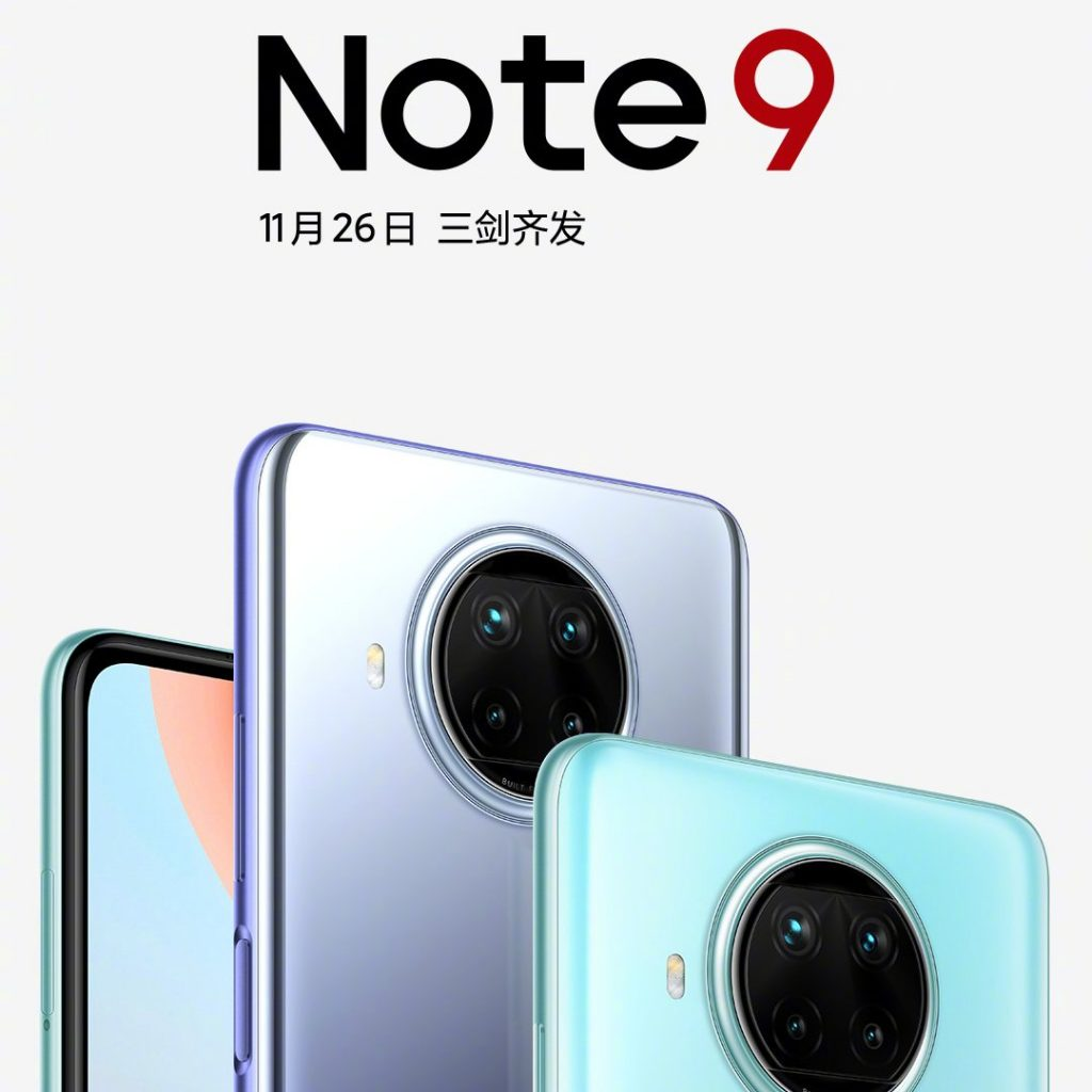 Redmi Note 9 5G will be powered by the newly announced Mediatek Dimensity 800U chipset.