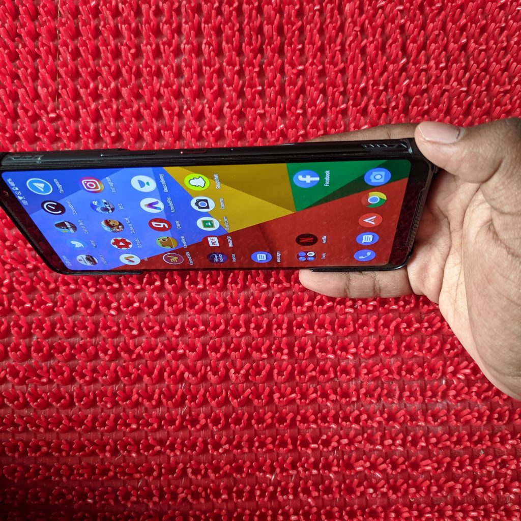 Air Triggers are much beneficial in ROG Phone 3