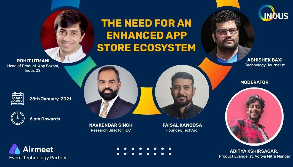 Indus OS to host a special webinar on 'the need for an enhanced app store ecosystem'