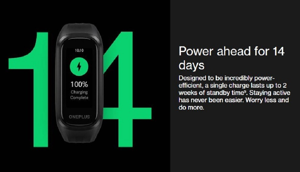 Oneplus Band Battery