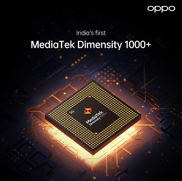 OPPO Reno 5 Pro 5G is the first device in India, with MediaTek Dimensity 1000+.