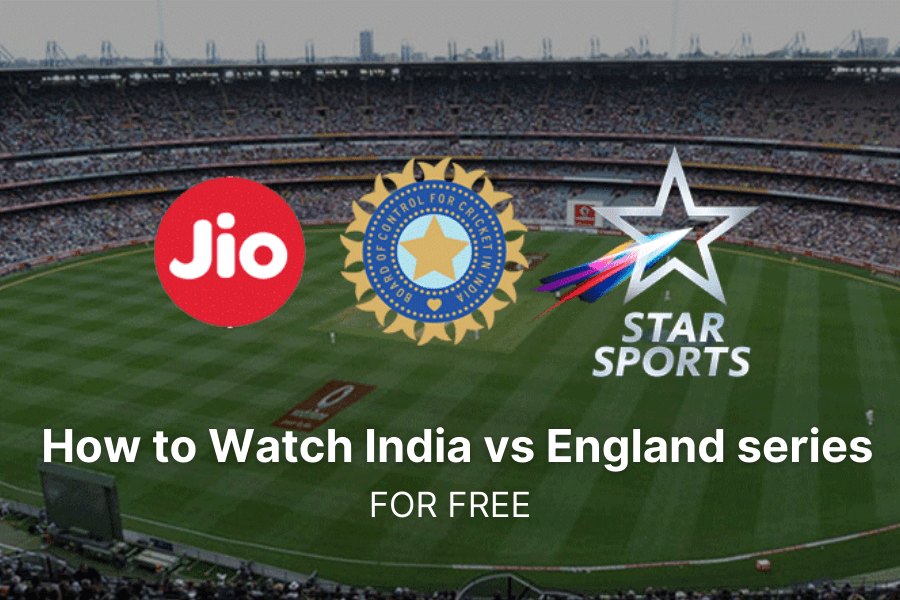 India vs England series for free on JIoTV