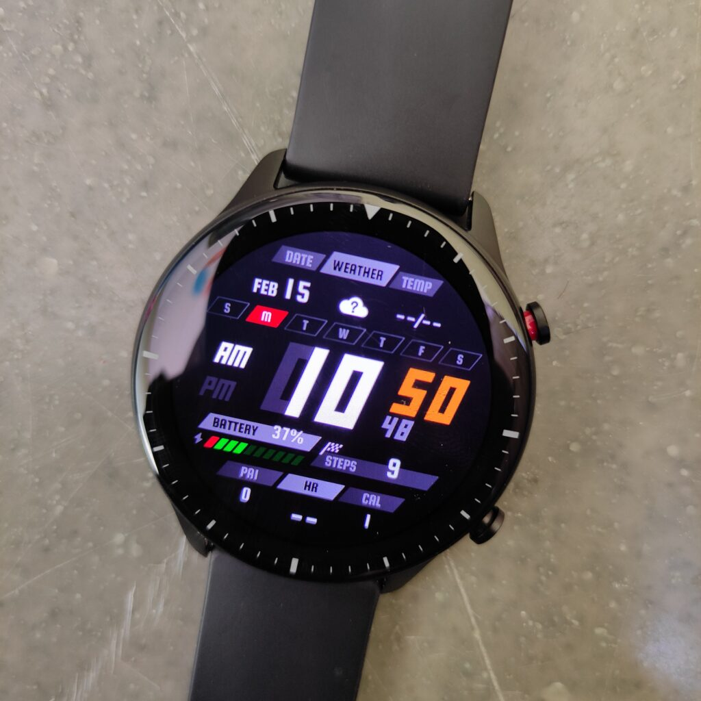 Amazfit GTR 2: Display and Watchfaces
