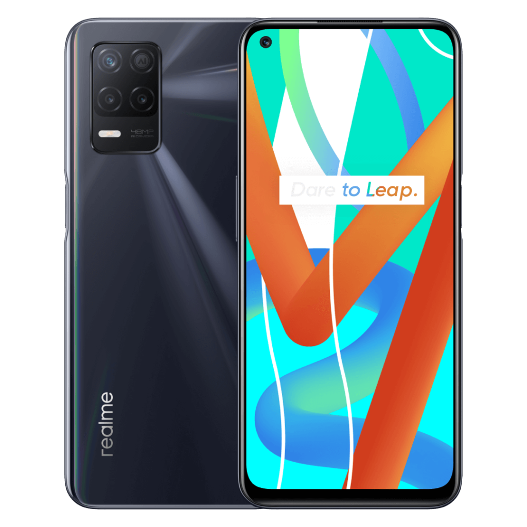 Realme 8 5G official renders