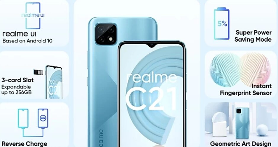 Realme C21 Launched in India