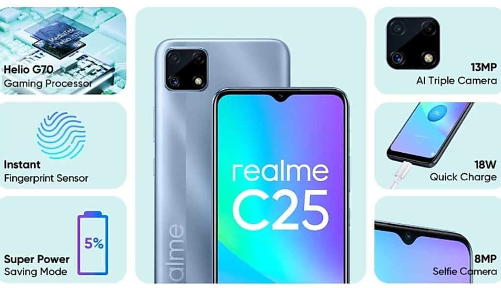 Realme C25 Launched in India