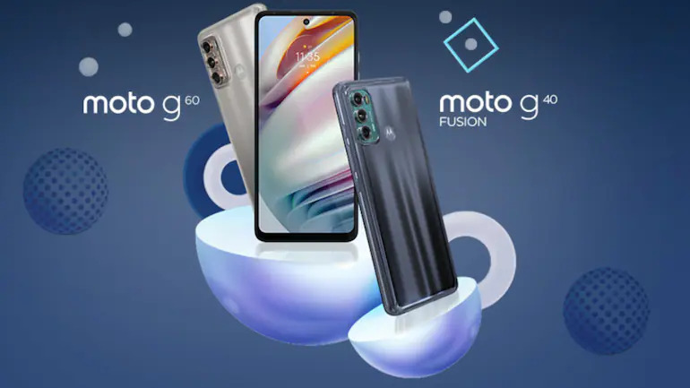Moto G60 and G40 fusion launched with 6000 mAh battery