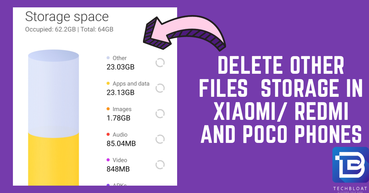 How to Delete Others Files Storage in Redmi and POCO Phones