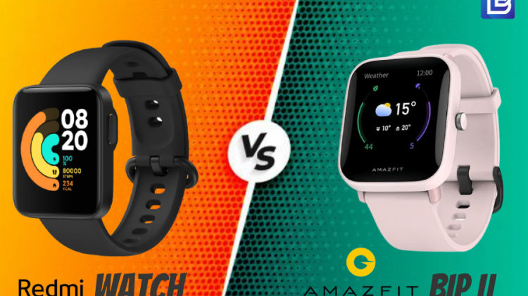 Redmi Watch Vs Amazfit Bip U detailed comparison of features, sports modes and battery life