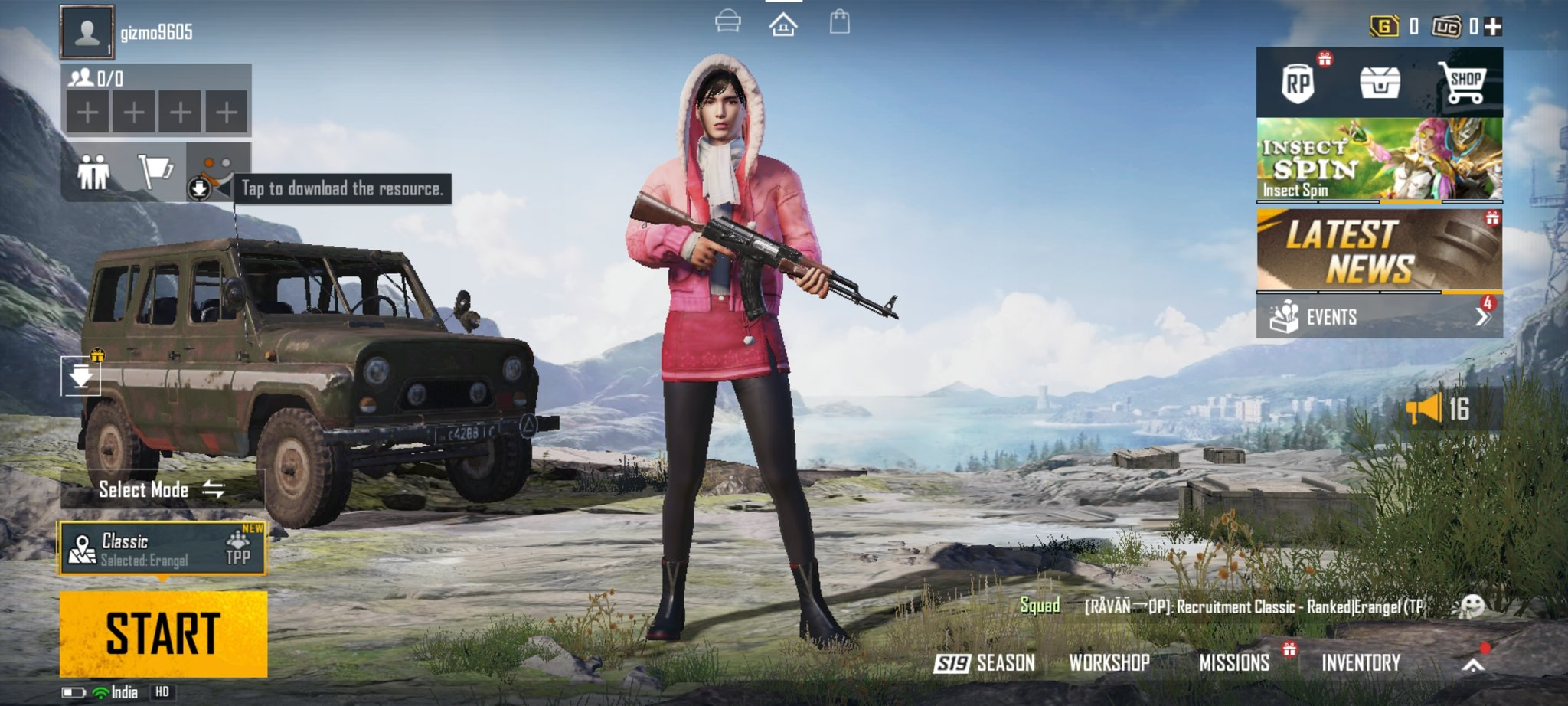 Download Battlegrounds Mobile India APK and OBB File