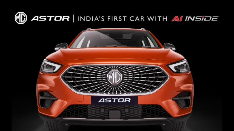 MG Motor India Introduces Astor SUV First Look and Design